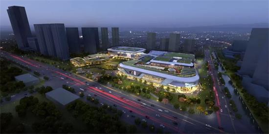 乐清正大城商业mall主体结顶